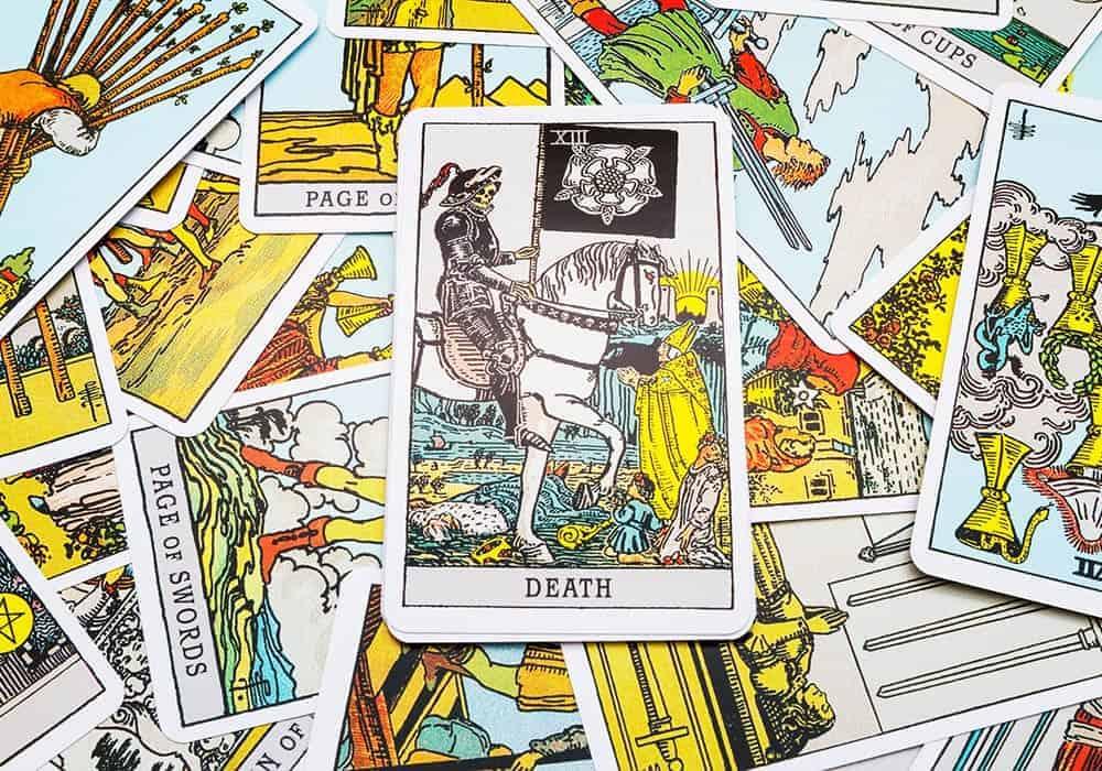 tarot karte Smrt